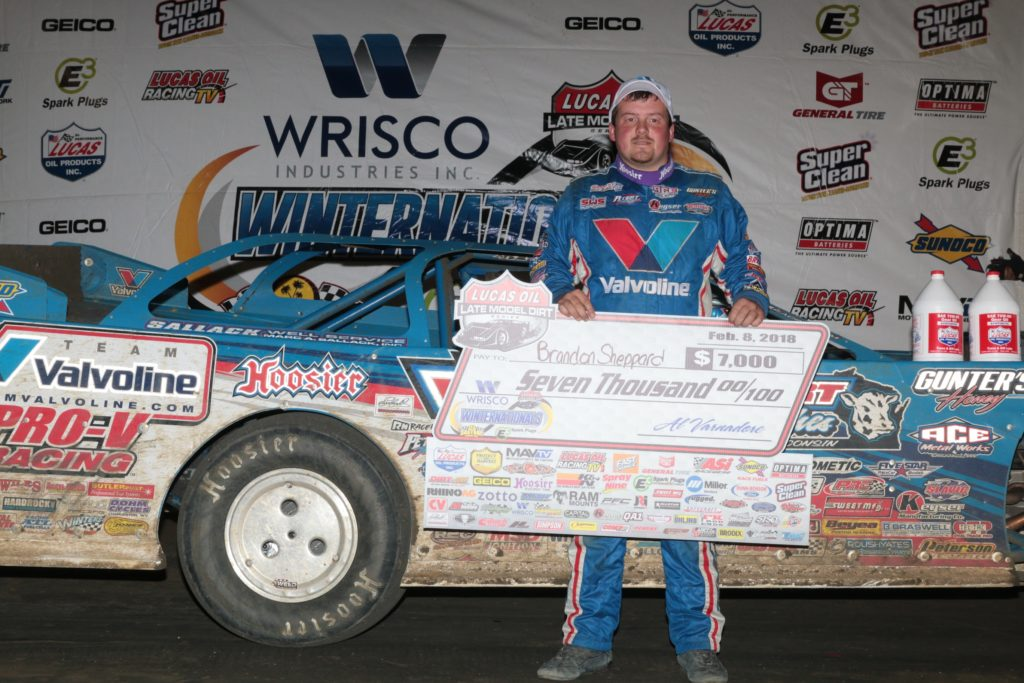 Sheppard Storms From 21st To East Bay Victory Lane